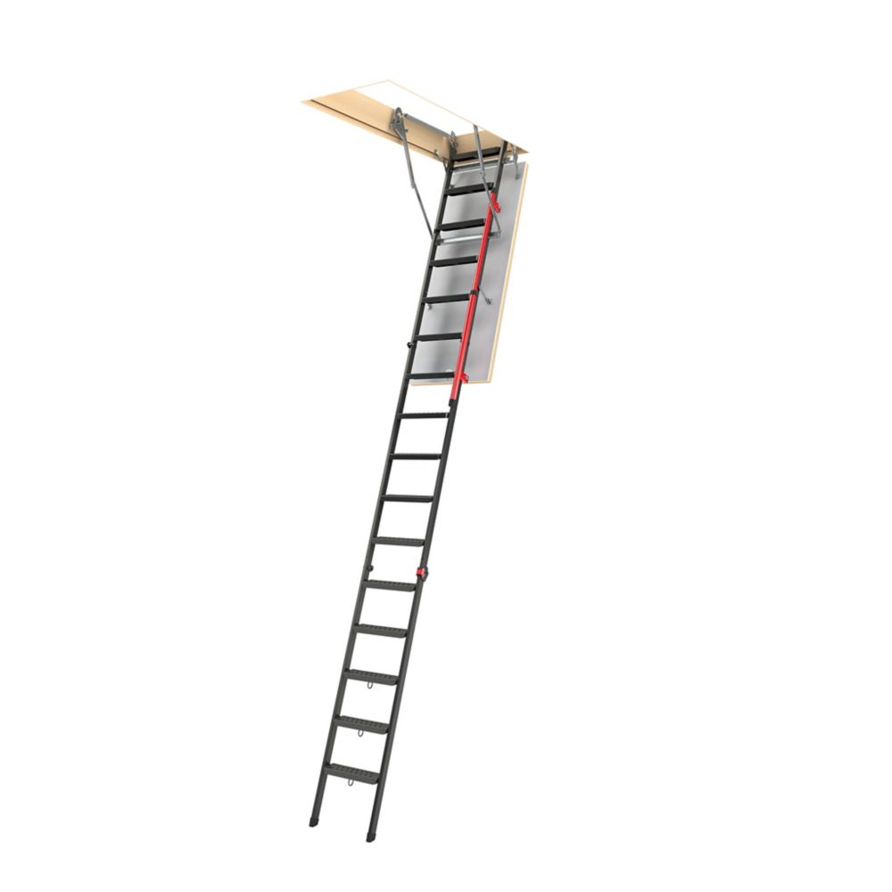 Fakro Attic Ladder (Metal Insulated) LMP 30 x 56 1/2 350lbs 12ft