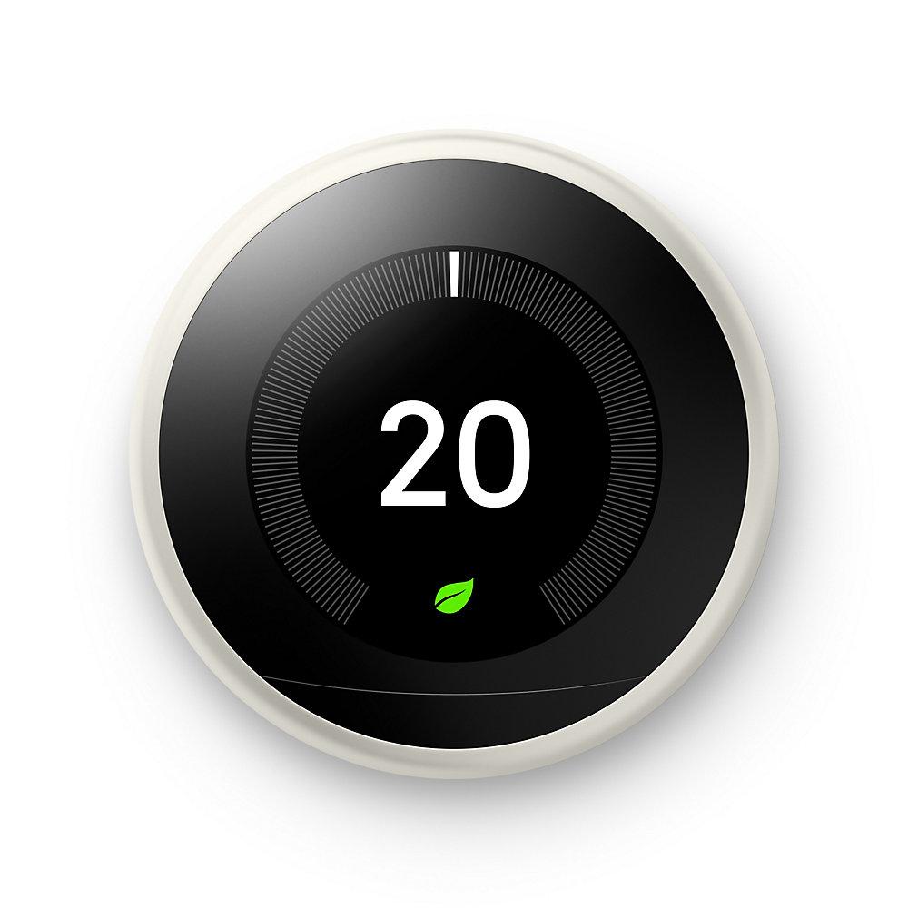 NestLearning Thermostat, 3e génération, blanc
