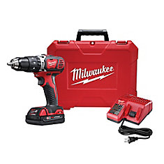 M18 Lithium-Ion Cordless 1/2-inch Hammer Drill Driver Kit with 1.5Ah Battery, Charger and Hard Case