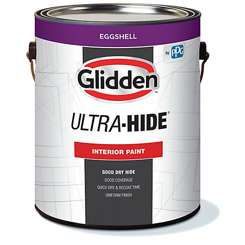 Ultra-Hide Interior Eggshell White 3.78 L