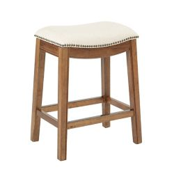 Ave Six Austin 26-inch Counter Stool in White