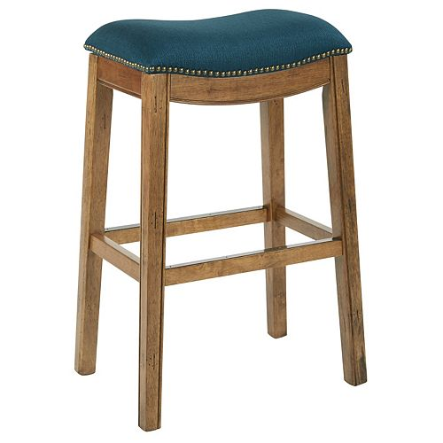 Ave Six Austin 31-inch Bar Stool in Blue