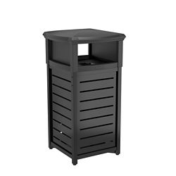 Suncast 30 Gal. Thermoplastic-Coated Touchless Trash Can