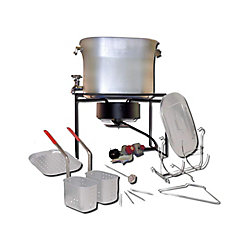 King Kooker Multi-Purpose Portable Propane Outdoor Cooker Package