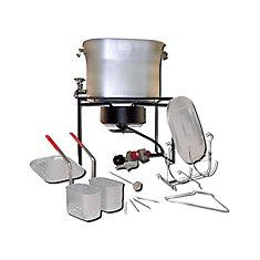 L'ensemble de cuisine en plein air le plus versatile pour tous les types de cuisson