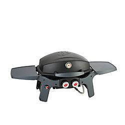 Pantera Barbecue portatif au propane à 2brûleurs, noir