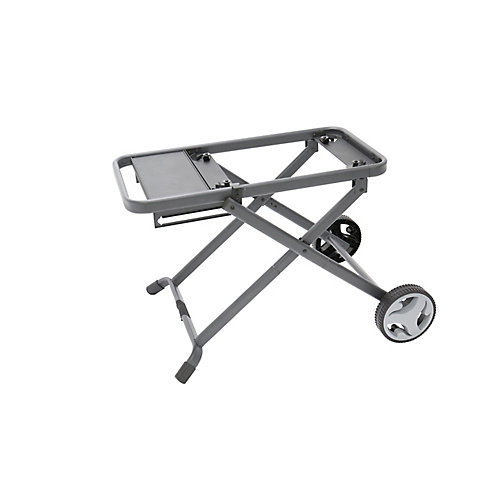 High Foldable Cart 24-inch Stand for BBQ with Wheels
