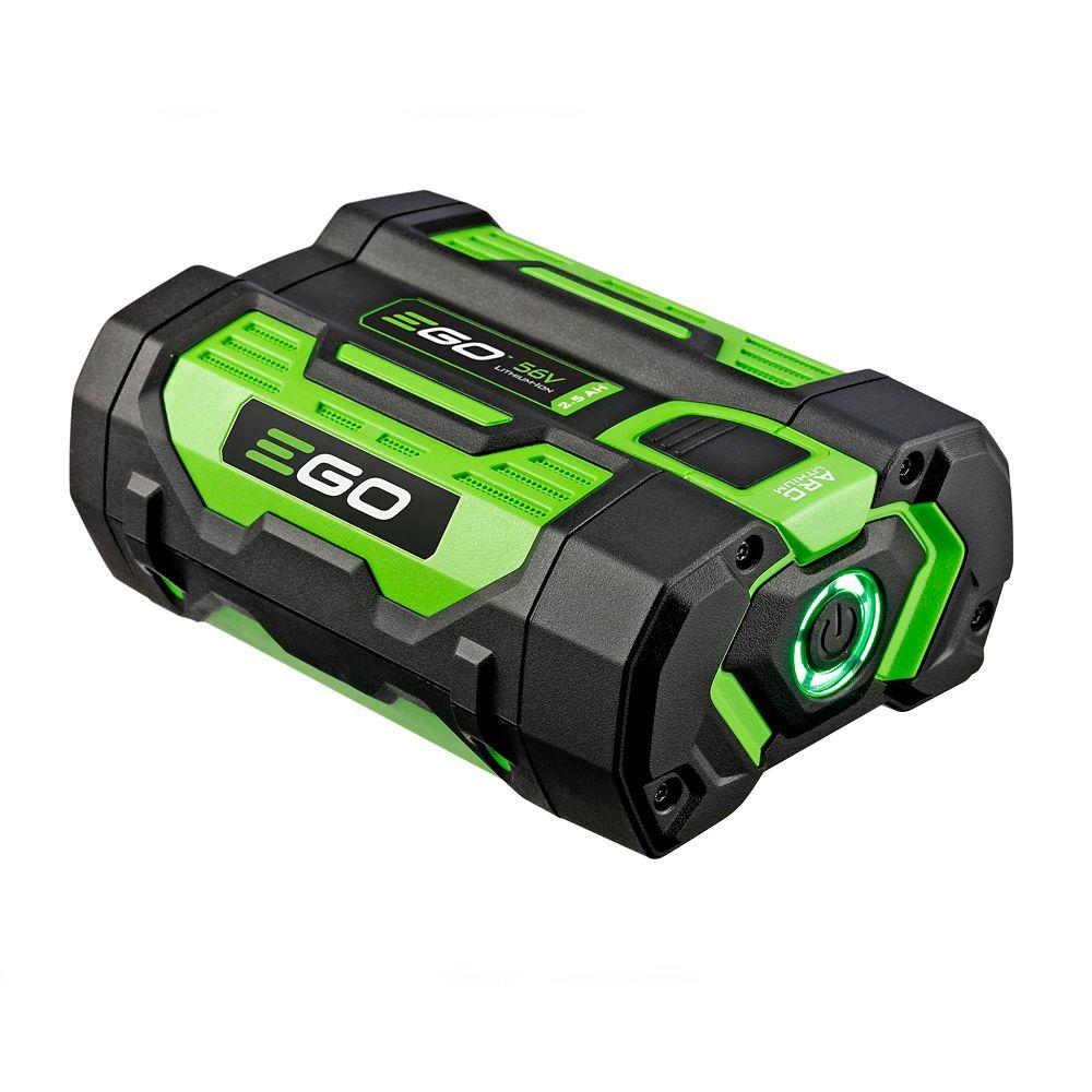 EGO POWER+ 56V Arc Li-Ion 2.5Ah Battery with Fuel Gauge for all EGO Power+ Equipment BA1400T