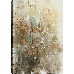 ArtMaison Canada Field of Flowers Giclee Gallery Wrapped Canvas Wall Art, Modern Décor for Home, Office Ready to Hang