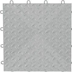 Gladiator Silver Floor Tile (48 Pack)