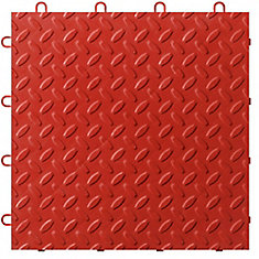 Red Garage Floor Tile (48-Pack)