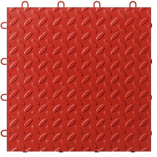 Gladiator Red Garage Floor Tile (48-Pack)