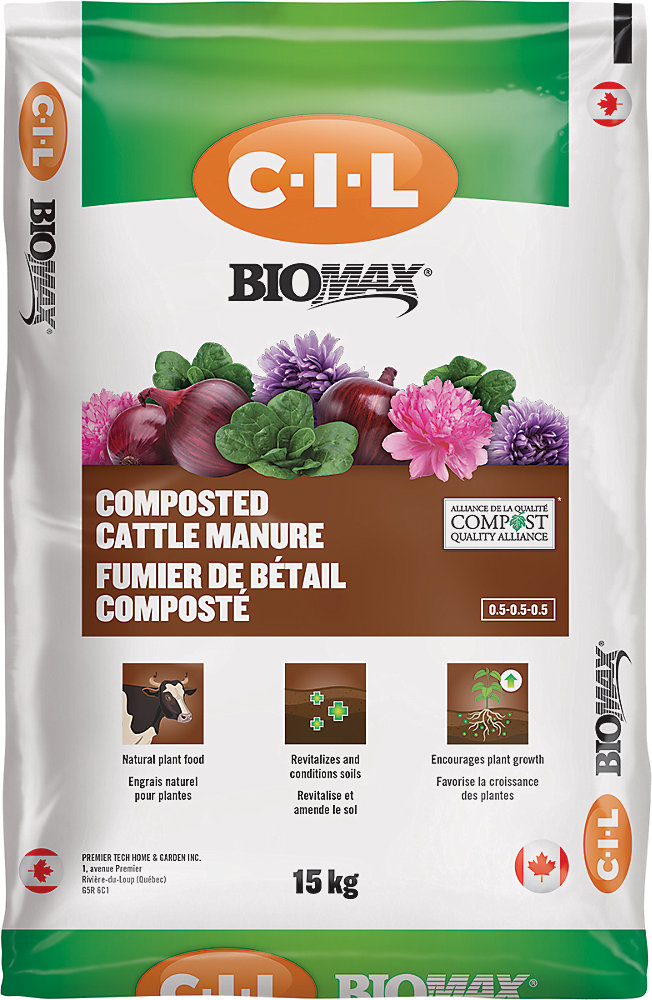 BIOMAX Composted Cattle Manure