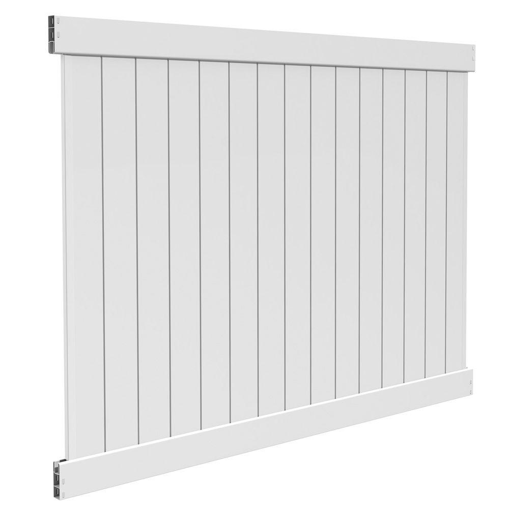 Barrette 6x8 5 5 Inch Privacy Panel White Dn The Home