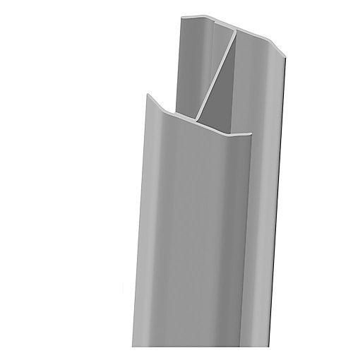 Renfort D'Aluminium Pour Poteau 5X5X106