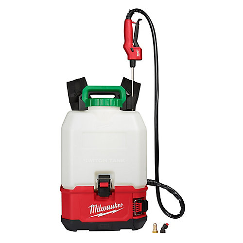 M18 18V 4 Gal. Lithium-Ion Cordless Switch Tank Backpack Pesticide Sprayer (Tool-Only)