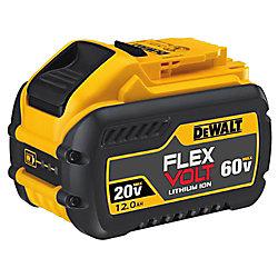 FlexVolt 20-Volt/60-Volt MAX 12,0 Ah Batterie de 12,0 Ah