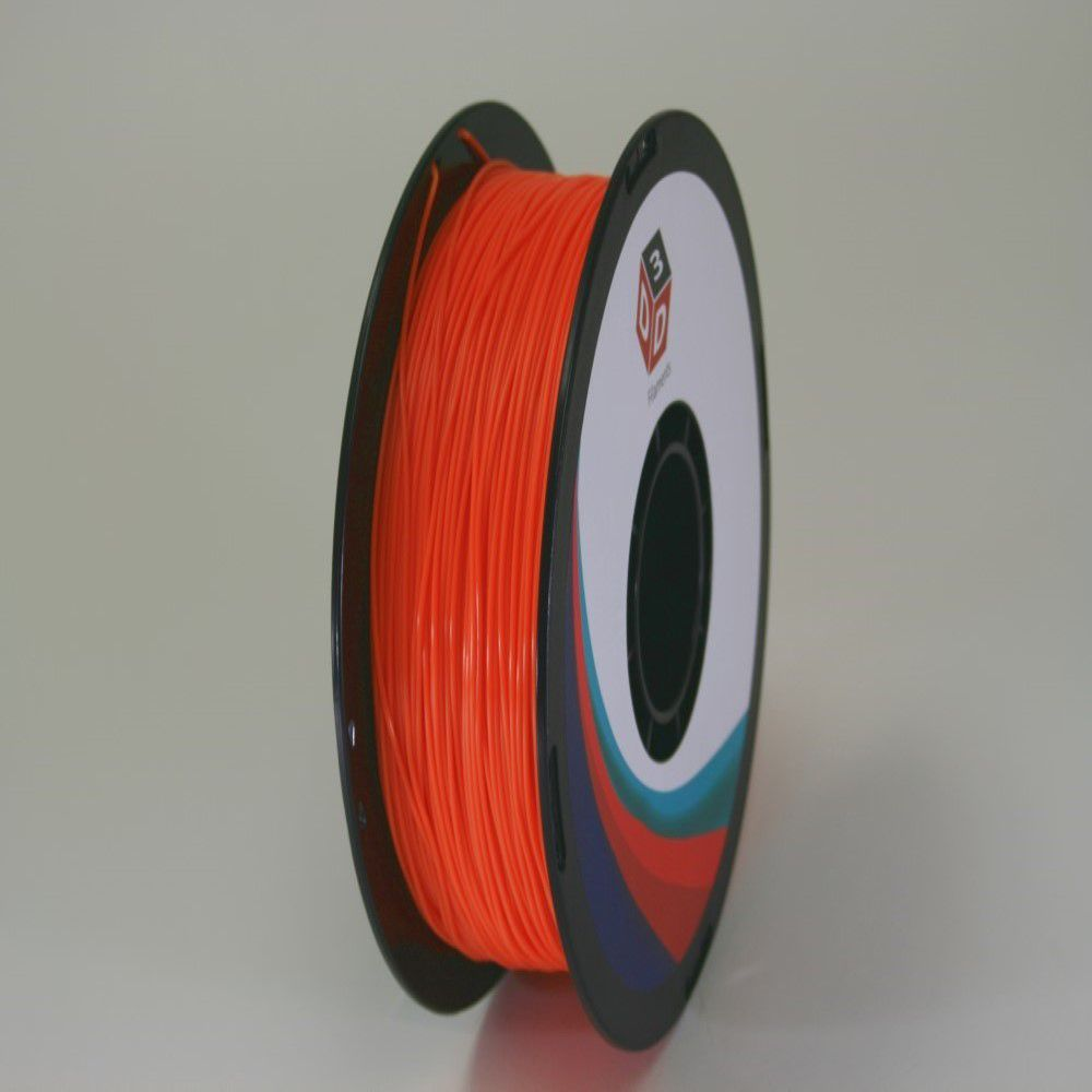 D3D 3D Printer PLA Filament -Orange