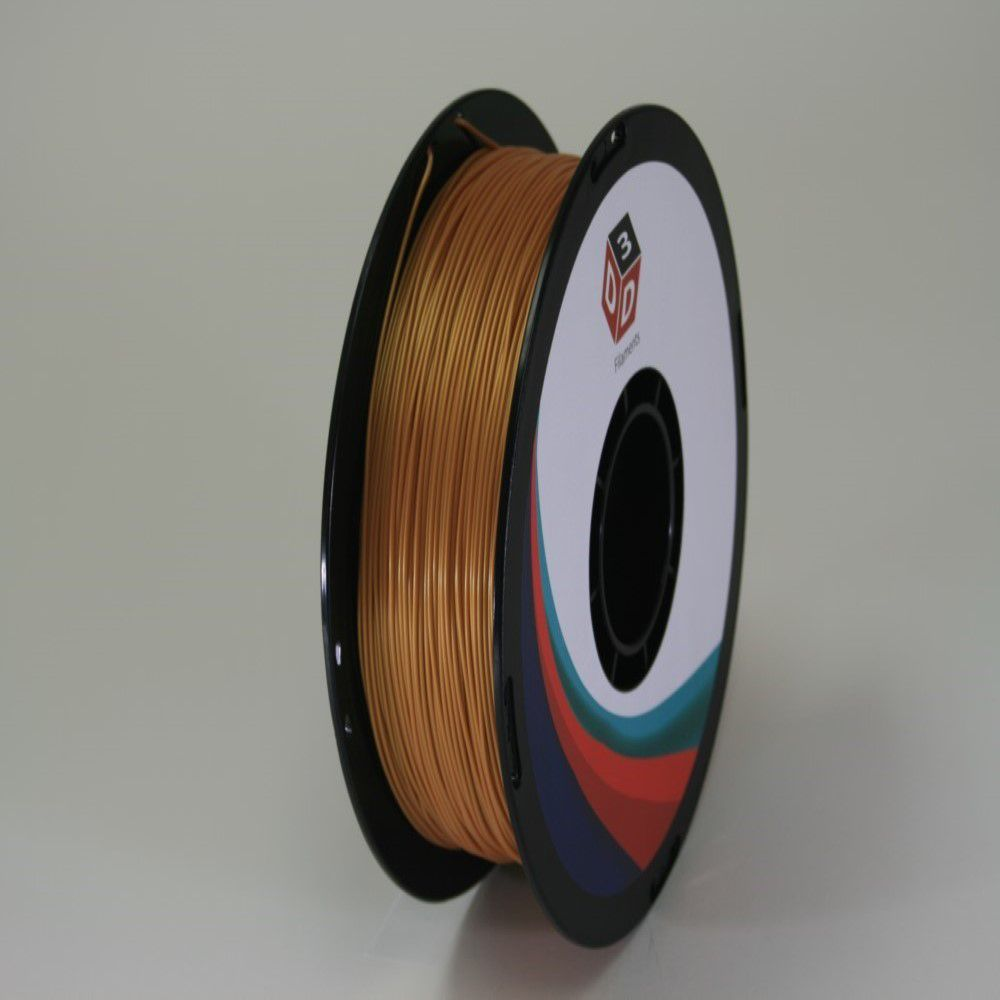 D3D 3D Printer PLA Filament -Gold