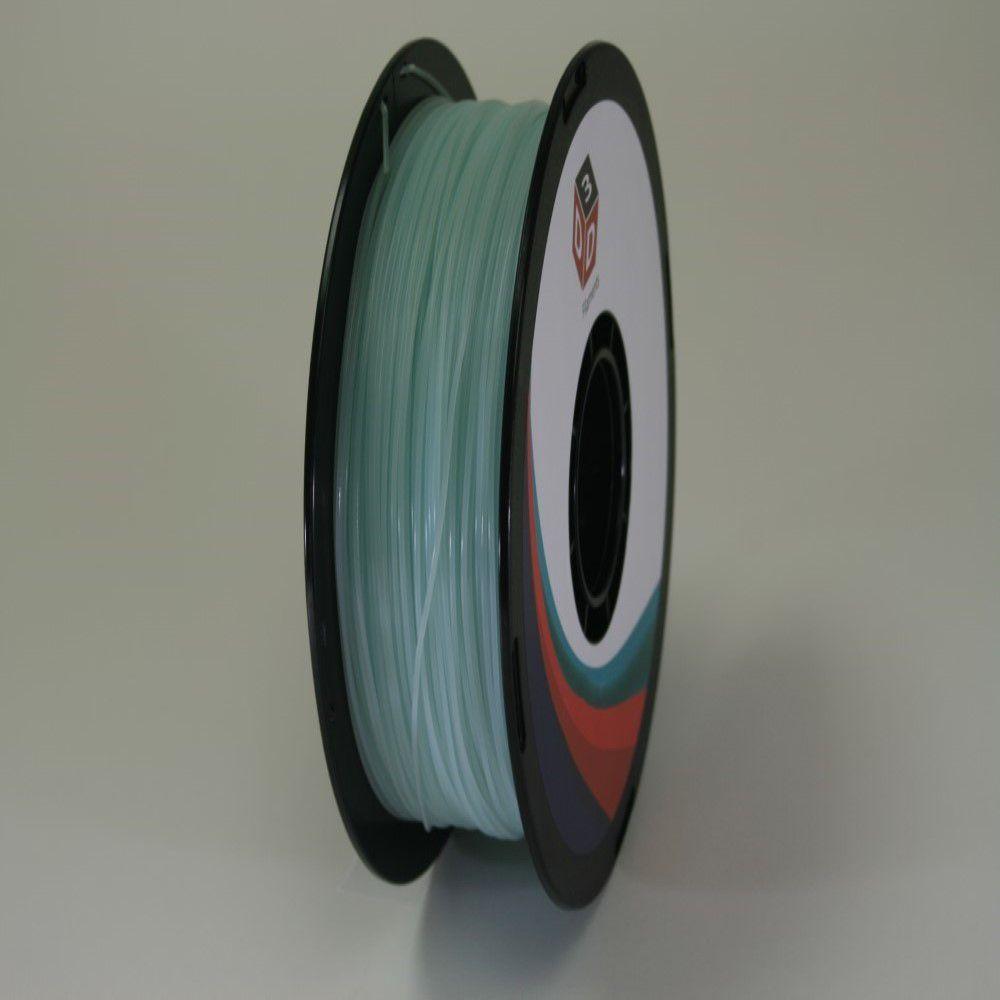 D3D 3D Printer PLA Filament -Glow In Dark Blue