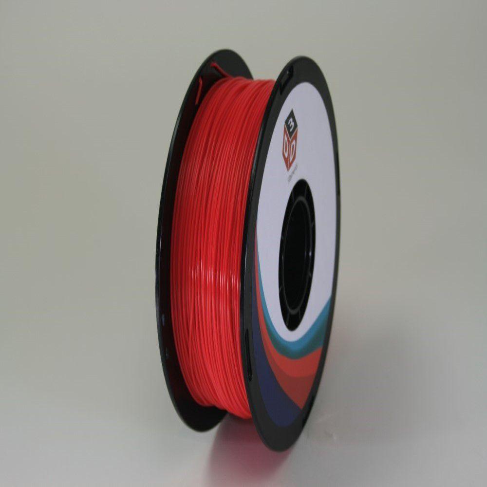 D3D 3D Printer PLA Filament Fluorescent Red