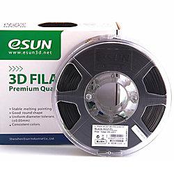 ESUN 3D Printer Pla+ Filament  Black