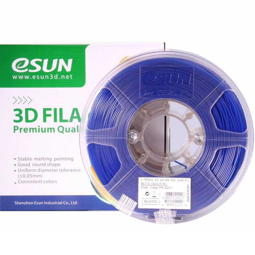 ESUN 3D ESUN PLA+ Filament -Blue