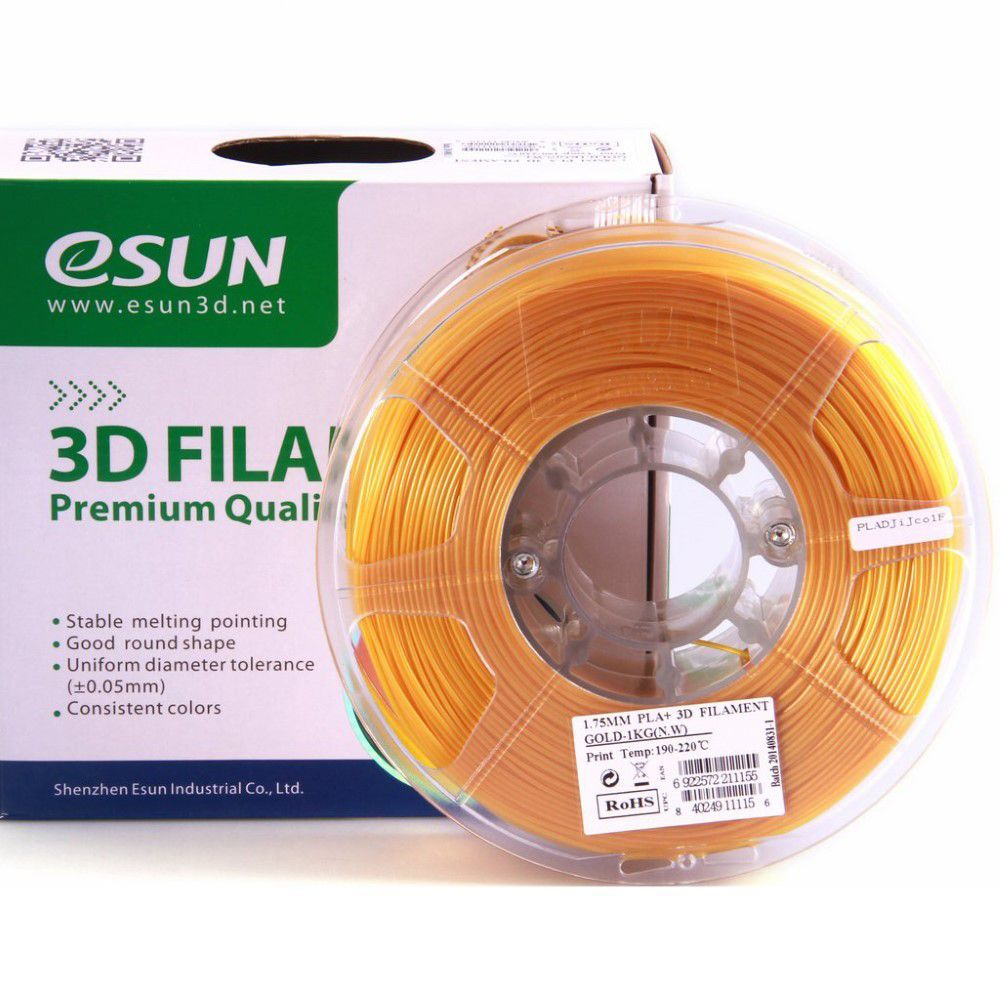 ESUN 3D ESUN PLA+ Filament -Gold