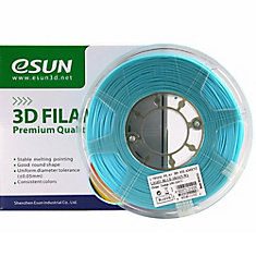 3D ESUN PLA+ Filament -Light Blue