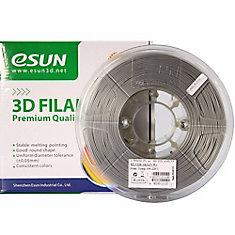 3D ESUN PLA+ Filament -Silver