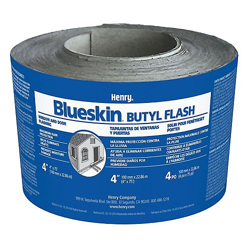 Henry Blueskin Butyl Flashing 4 inch