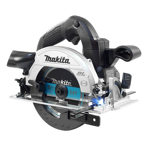 MAKITA 18V LXT Brushless 6-1/2 inch Circular Saw, Black (Tool Only)