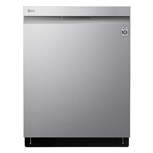 LG Electronics 24-inch Top Control Dishwasher in Stainless Steel with Stainless Steel Tub and 3rd Rack - ENERGY STAR®