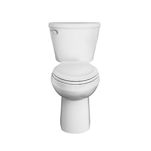 Mainstream Tall 2-piece 1.26 GPF Single Flush Elongated Comfort Height Toilet in White