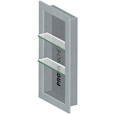 Prova Niche - 33 in X 16 in - Two Adjustable Shelves