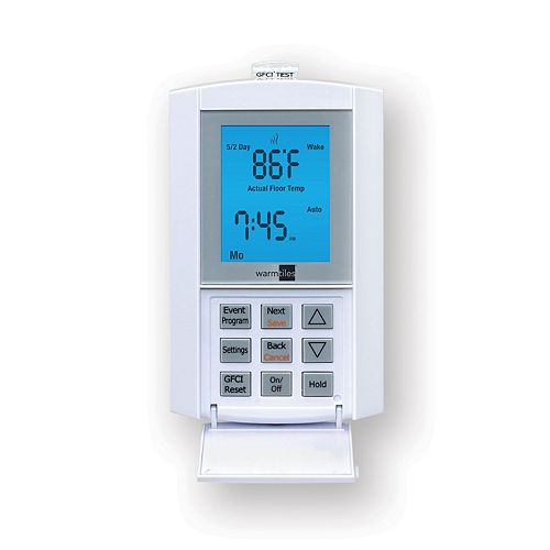 Warm Tiles 120V/240V, 15 A FGS Programmable Thermostat - For Electric Floor Warming Systems