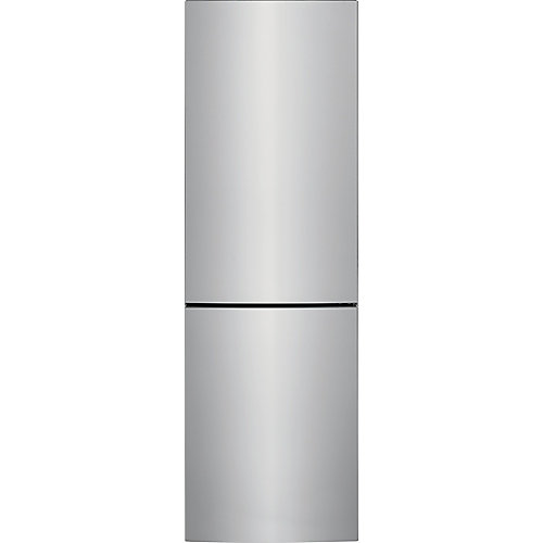 24-inch W 11.6 cu. ft. Bottom Freezer Refrigerator in Stainless Steel, Counter Depth