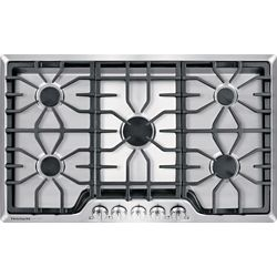 Frigidaire Gallery 36-inch Gas Cooktop in Stainless Steel with 5 Burners