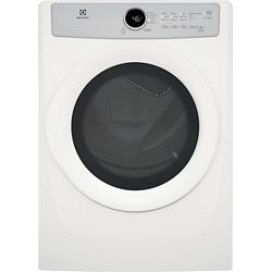 Electrolux 8.0 cu. ft. Front Load Gas Dryer in White, ENERGY STAR