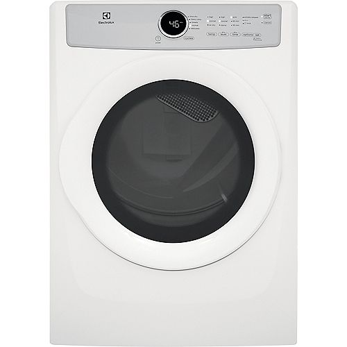 Electrolux 8.0 cu. ft. Front Load Gas Dryer in White, ENERGY STAR®