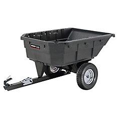 15 cu. ft. Poly Swivel Dump Cart, 1000 lb. capacity