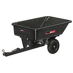 10 cu. ft. Poly Swivel Dump Cart, 600 lb. capacity