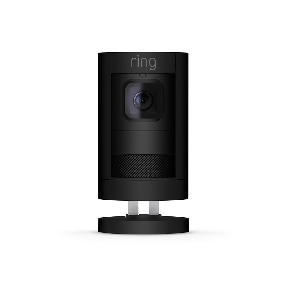 Ring Stick Up Cam Battery Powered Security Camera in Black