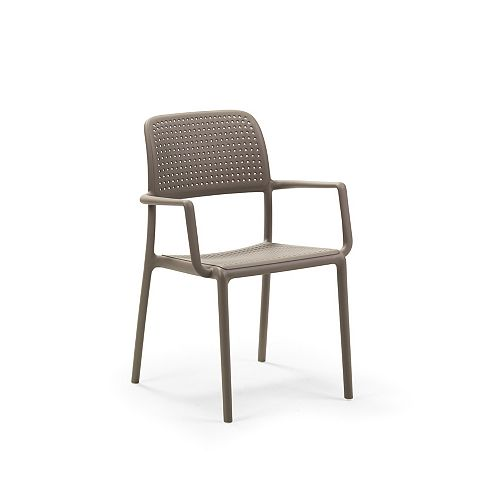 Nardi Bora Arm Chair (Set of 4) in Tortora
