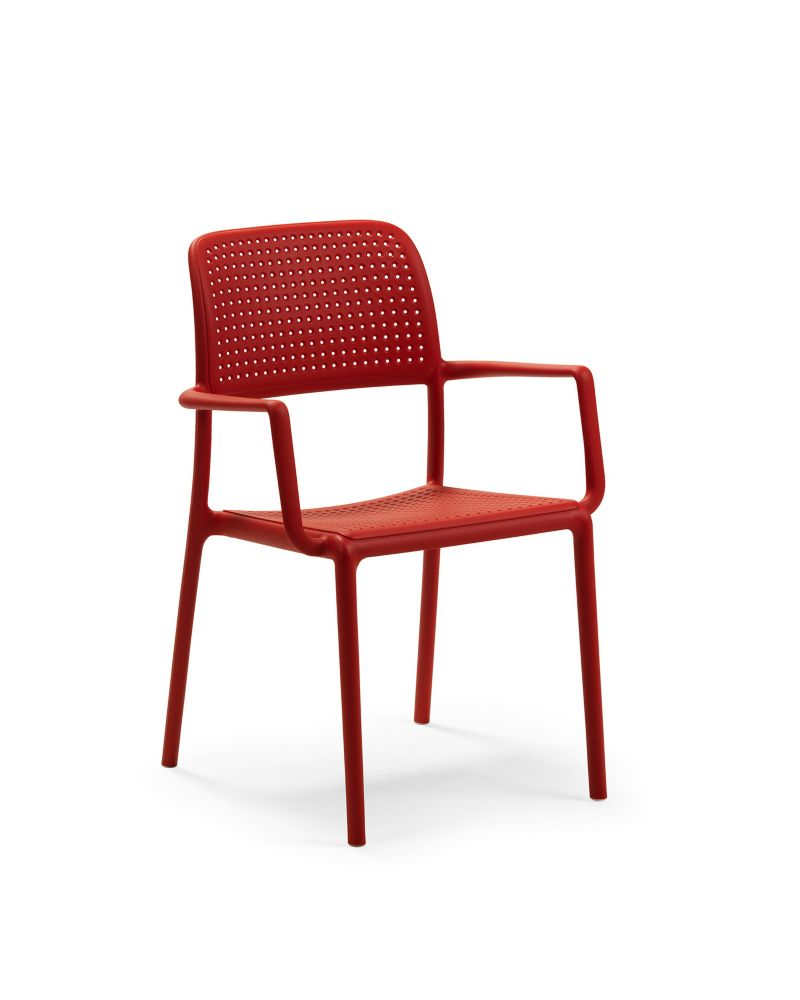 Nardi Bora Arm Chair (4-Pack) - Red