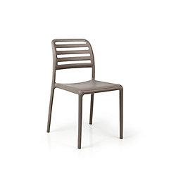 Nardi Costa Side Chair (Set of 4) in Tortora