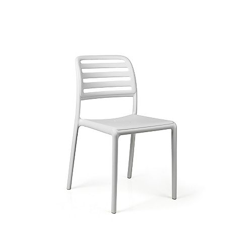Nardi Costa Side Chair (Set of 4) in Bianco