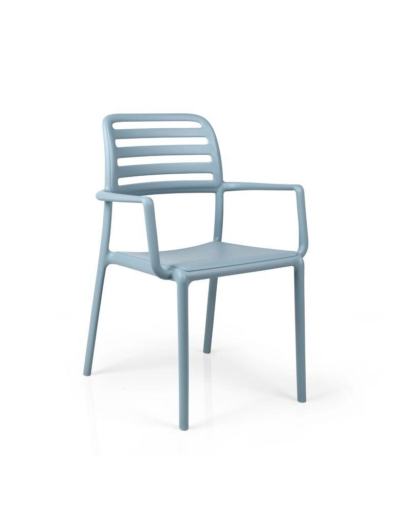 Nardi Costa Arm Chair (4-Pack) - Celeste