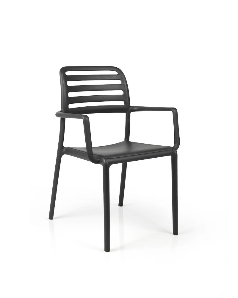 Nardi Costa Arm Chair (4-Pack) - Antracite