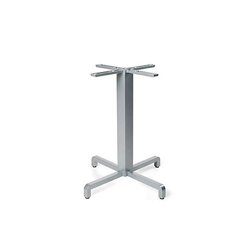 Fiore Dining Height Table Base - Silver